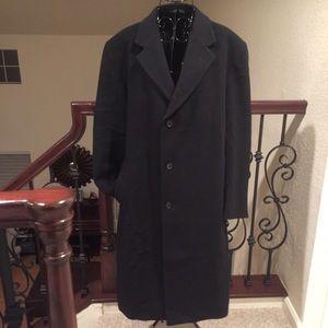 Ralph Lauren Men's Luther Wool Blend Top Coat